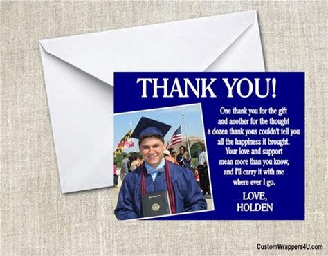 Graduation Photo Thank You Cards