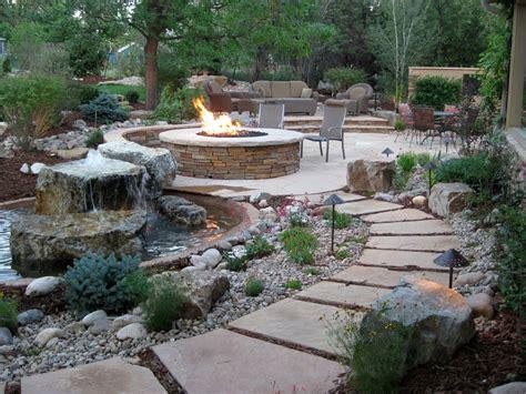 Google Image Result For Http Landscapeindenver Com Wp Backyard Patio Landscaping Ideas