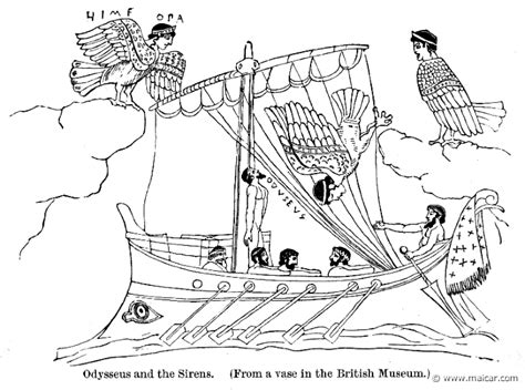 how to draw a greek boat the sirens greek mythology drawing www imgkid the
