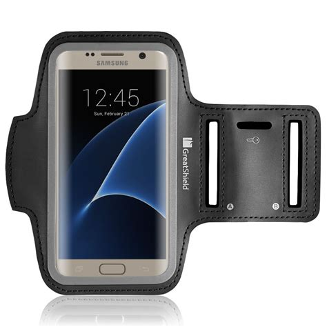 Neoprene Material Sports Armbcasekey Storage Samsung Galaxy Note 24 fit stretchable neoprene sport armband for galaxy nexus motorola and htc phones greatshield