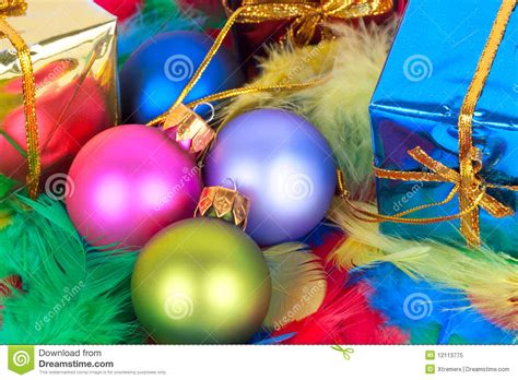 christmas vivid balls royalty free stock photo image 12113775