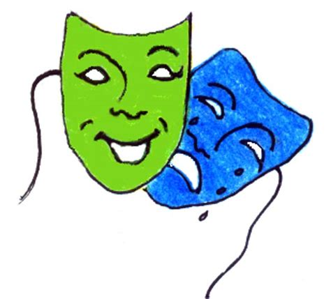 drawing kids of masks clipart best picture of drama masks clipart best