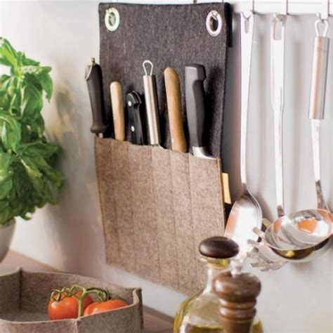 creative knife holders for kitchen of me