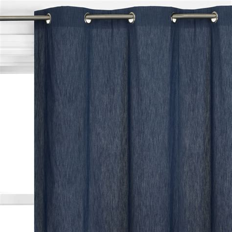 Denim Curtains And Blinds