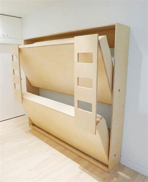 Fold Away Bunk Beds For Tiny Homes Tiny House Pins Fold Away Bed