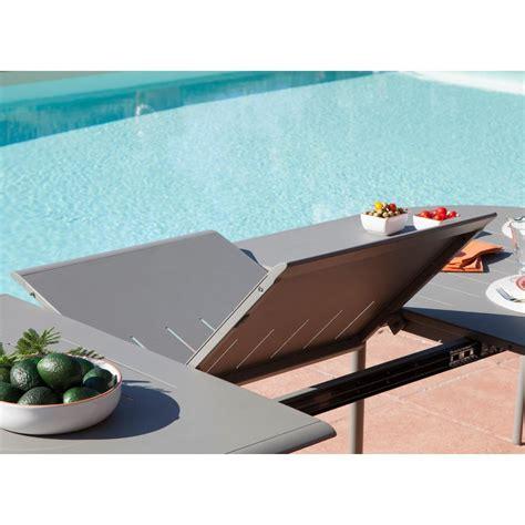 Table Jardin 8 Personnes 751 by Table Ovale Extensible Brasa En Aluminium 120