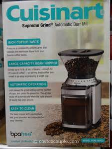 Coffee Grinder At Costco Cuisinart Burr Grinder