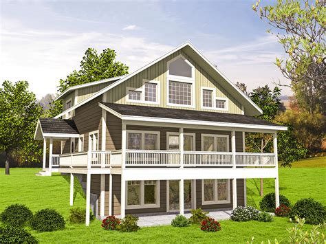 northwest house plans northwest house plan with three levels 35557gh