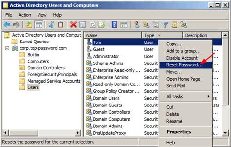 reset windows password on domain 4 ways to reset domain admin password on windows server