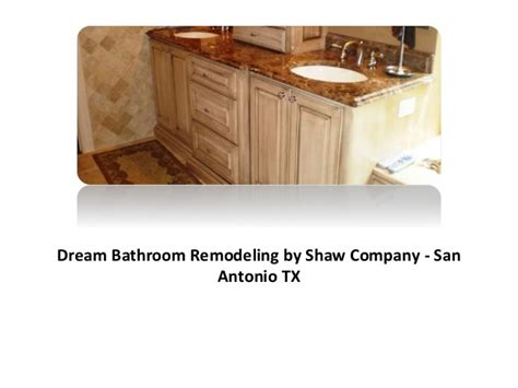 bathroom remodel san antonio ppt 1 bathroom remodeling san antonio