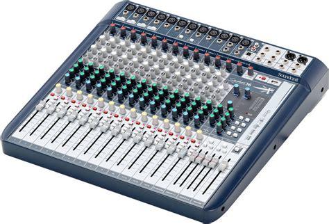 Mixer Soundcraft 16 Channel Bekas soundcraft signature 16 thomann ireland