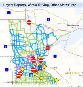 us map driving conditions newsline minnesota department of transportation employee