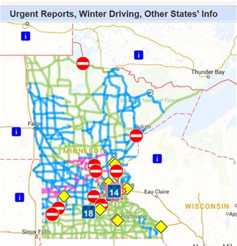 Stillwater Mn Road Conditions With Driving And Traffic | mndot road design