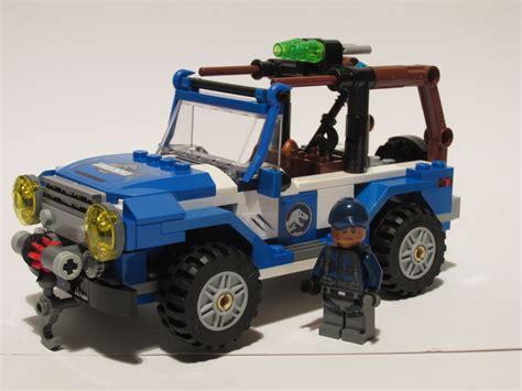 lego jurassic jeep jurassic lego jeep jurassicworld lego ideas