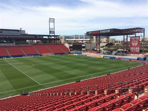 Hotels Near Toyota Stadium Toyota Stadium Section 126 Home Of Fc Dallas