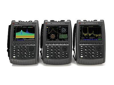 fieldfox handheld rf  microwave analyzers keysight  agilents electronic measurement