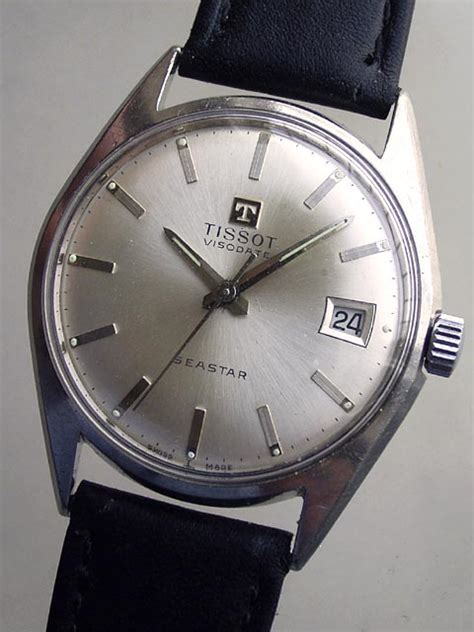 Tissot Visodate T 12 17 Jewels bidfun db archive wrist watches 163 gents tissot