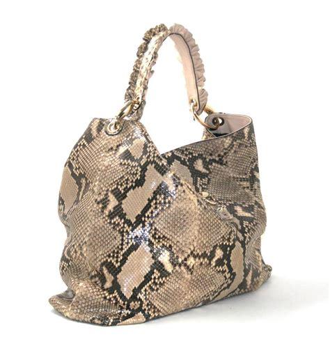 Gucci Python Bag by Gucci Python Sabrina Hobo Shoulder Bag At 1stdibs
