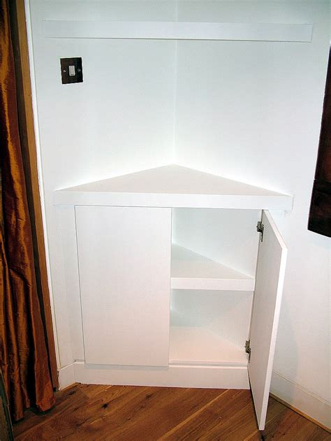 cupboard shelves triangular corner cupboard with floating shelves by
