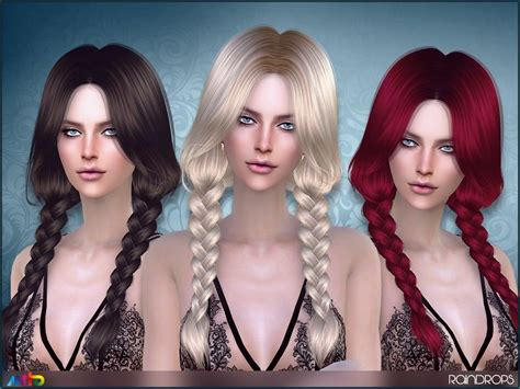 tsr braids sims 4 cute braids for your ladies found in tsr category sims 4