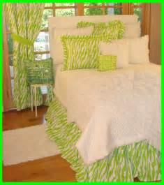 girls green bedding teen girls bedding in lime green zebra sweet and sour