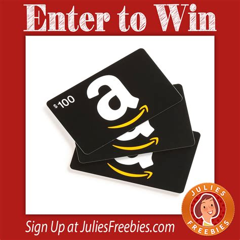 Can You Use Amazon Gift Cards At Whole Foods - win a 500 amazon gift card julie s freebies