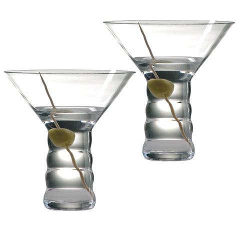 Bar Glasses Set Riedel Bar O Martini Glasses Set Of 2 In See Photo