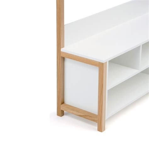 Charmant Table Et Chaise Bois Enfant #3: Banc-porte-manteau-bois-et-blanc-northgate.jpg