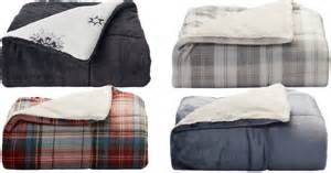 black friday comforter deals kohl s cuddl duds cozy soft throws only 16 99 reg 59