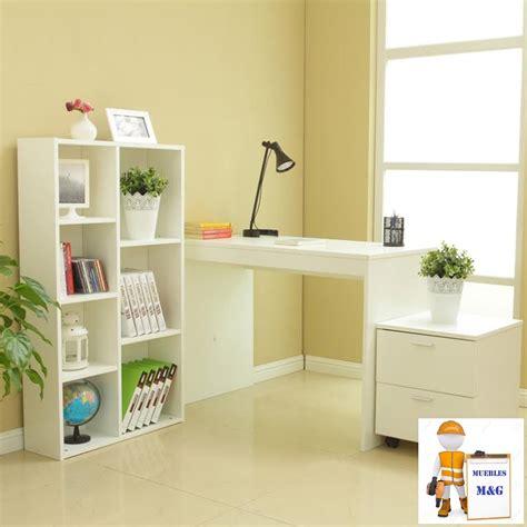 escritorio y biblioteca escritorio biblioteca mueble con 02 cajones de