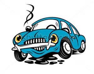 Car Shocks Clipart Voiture Cass 233 E Dans Le Style De Dessin Anim 233 Pour La