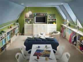 Beau Creer Une Salle De Bain Dans Une Chambre #5: chambre-d-enfant-de-combles-amenagement-comble-murs-color%C3%A9s-sol-en-parquette.jpg