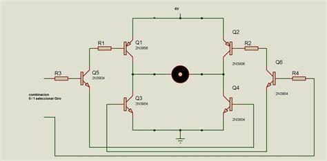 transistor bc548 como interruptor calculos puente h laneros