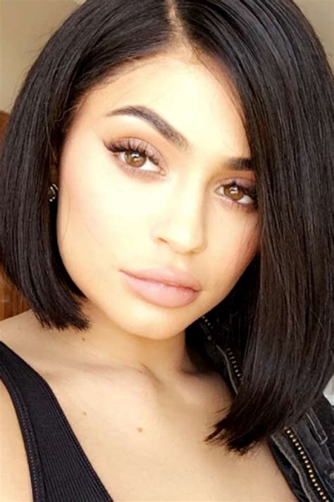 bob haircuts kylie jenner kylie jenner cuts her hair beauty crew