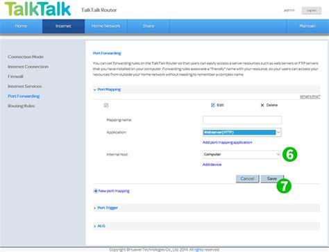 port forwarding enable port forwarding for the huawei hg633 web server