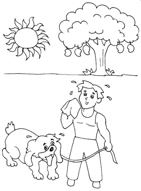 9 best images of have a great printable summer coloring