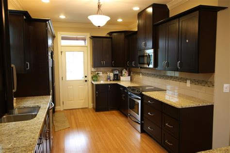 espresso cabinets kitchen espresso shaker kitchen 2 from thertastore in hopewell junction ny 12533