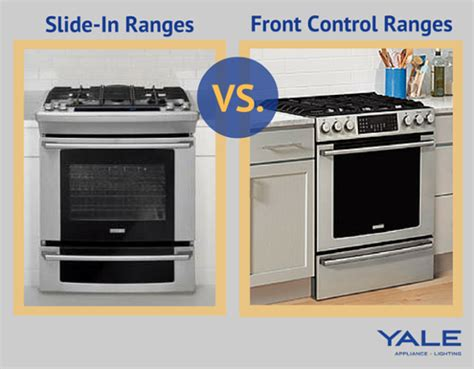 pros and cons of slide in ranges versus cooktop and oven slide in ranges vs front ranges reviews ratings