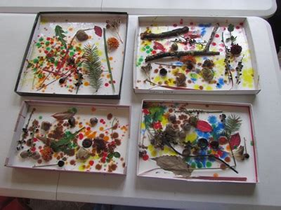 kindergarten activities nature our nature shadow boxes in preschool teach preschool