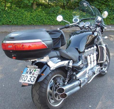 Triumph Motorrad Lamminger by Volker S Rocket Aktueller Zustand
