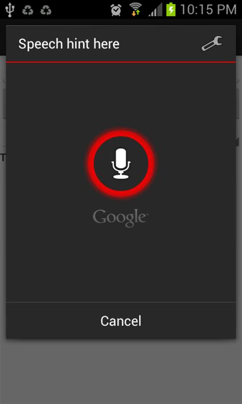 voice recognition android code4referencetutorial on android voice recognition api