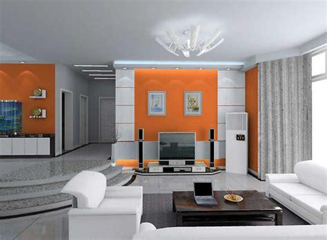 design ideas modern home interior design ideas with gray and orange