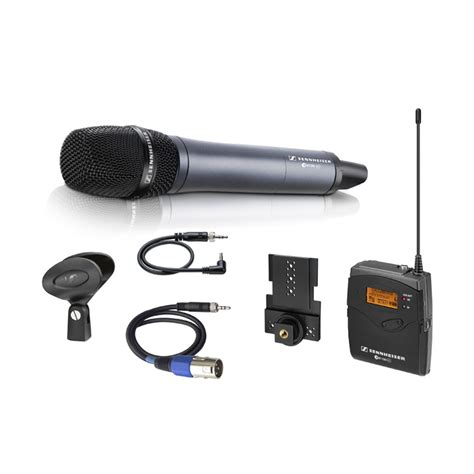 Mic Wirelles Sennheiser Ew 135 G4 sennheiser ew 135 p g3 wireless microphone system with skm 100 g3 handheld