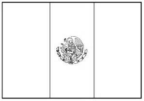 mexican flag coloring page mexican flag