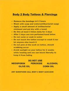 tattoo aftercare wash daily recovery piercing aftercare spray saline wash tattoo