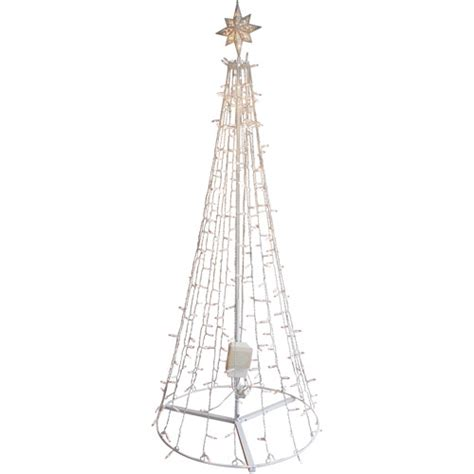 ge itwinkle 7 5 quot outdoor metal christmas tree walmart com