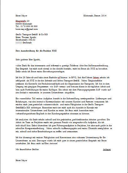Bewerbungsbrief Franzosisch Muster Muster Bewerbungsschreiben Joblers