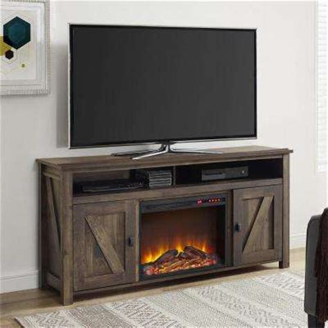 Home Depot Electric Fireplace Tv Stand by Fireplace Tv Stands Electric Fireplaces The Home Depot