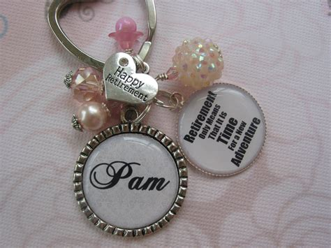 personalized gifts for women personalized women retirement keychain retirement gifts in
