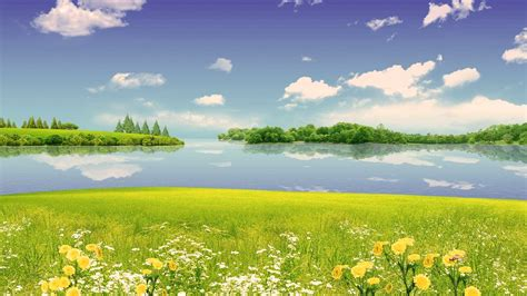 wallpaper for walls nature scenes summer scene wallpapers wallpaper cave